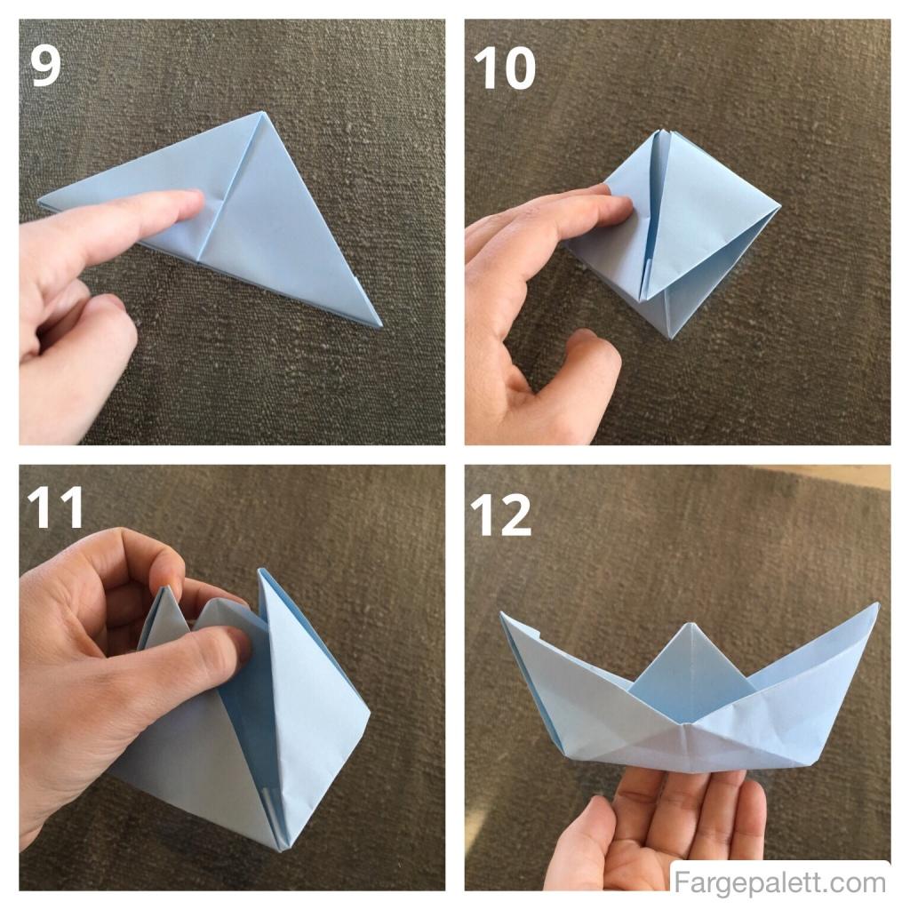 Aktivitet, aktiviteter, barneaktivitet, barnehage, brette, firkant, form, former, forming , formingsaktivitet, fremgangsmåte, origami, kvadrat, hvordan, kvadrat, lag, lek, leke, papirbåt, rammeplan, rektangel, rom, trekant, vann, utetid, lek, mammalivet